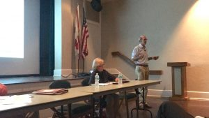 Community planning group answers residents' questions at introductory meeting