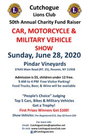 Cutchogue Lions Annual Car, Motorcycle & Military Vehicle Show