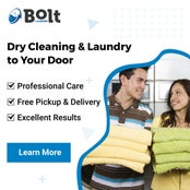 FREE Dry Cleaning & Laundry Pickup and Delivery Service